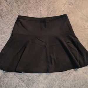 Black BCBG Maxazria high waisted circle skirt